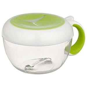 OXO Tot - Vaso con tapa para aperitivos, color verde
