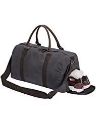 Gym Bag Duffle Bag Weekend Bag with Shoes Compartment, Oversize Capacity Travel bag