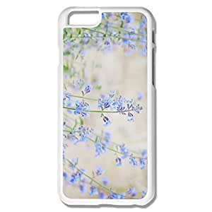Amazing Design Blue Small Flowers IPhone 6 Case For Couples