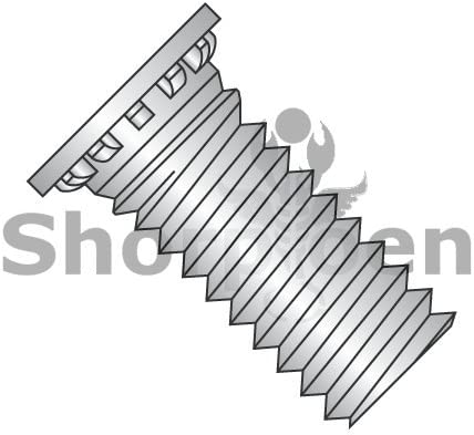 Box of 2000 Self Clinching Stud 12 Rib Fully Threaded 300 Series Stainless Steel 1//4-20 x 1//2 weight11.2Lbs
