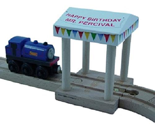 Learning Curve Mr Percival Birthday Tent - Thomas Wooden Railway Tank Engine Train ()