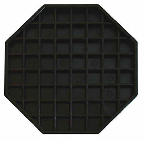 - Update International (DT-6X6) Octagonal Plastic Drip Tray