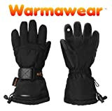 Warmawear Battery Heated Ski Gloves For Touchscreen Devices (Small/medium)