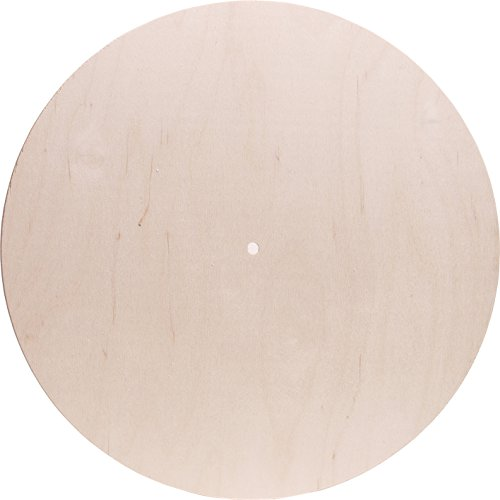 - Walnut Hollow 27636 Baltic Birch Clock Face Gallery Round, 14-Inch