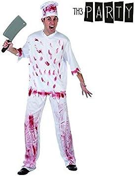 Disfraz para Adultos Th3 Party Cocinero asesino: Amazon.es ...