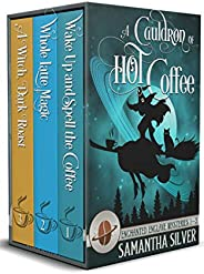 A Cauldron of Hot Coffee: Enchanted Enclave Mysteries Books 1-3 (English Edition)