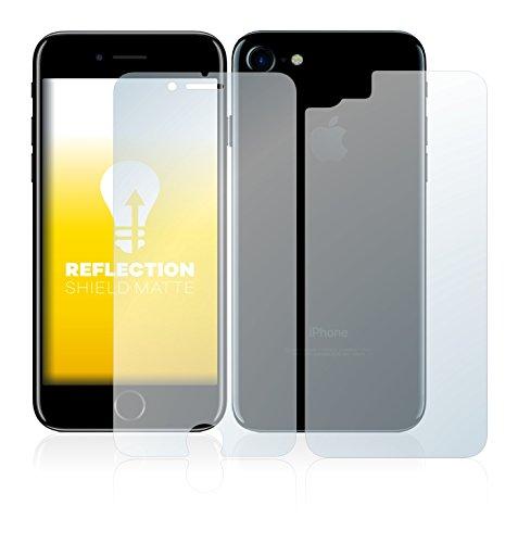 upscreen Scratch Shield Pellicola Protettiva Opaca Apple iPhone 7 (Anteriore + Posteriore) Protezione Schermo – Antiriflesso, Anti-Impronte
