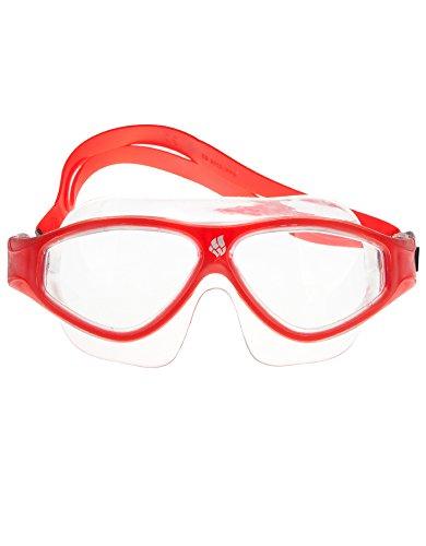 Mad Wave Unisexe M046102005W Masque de natation, taille unique Red