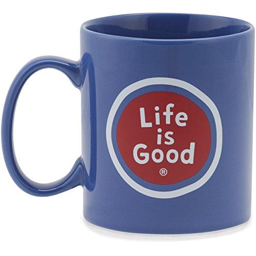 Life is good Unisex Jake's Mug Lig Sphere, Darkest Blue, One Size