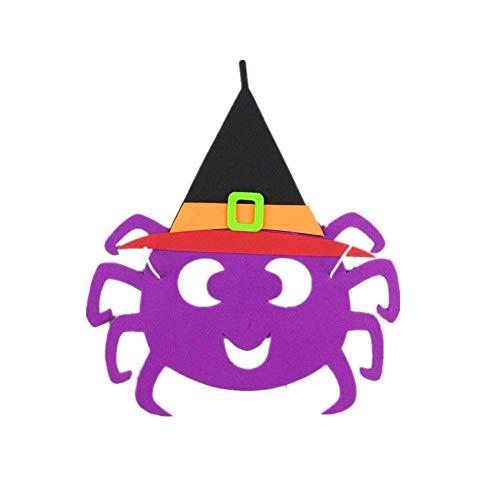 HHei_K-Happy Halloween Cute EVA Foam Cartoon Mask Cosplay