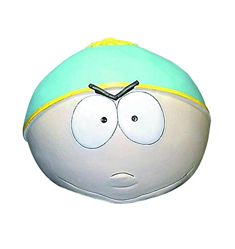 South Park Cartman Overhead Latex Mask, Multi Color, One (South Park Masks)