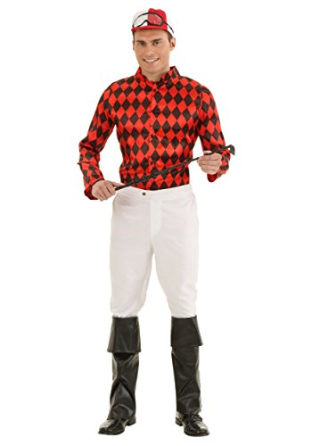 Adult Horse Jockey Costume X-Large Red -