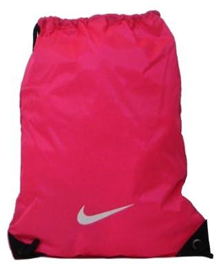 Nike Pink Nylon Drawstring Gymsack. - Pink Flash - UK 1: Amazon.co ...