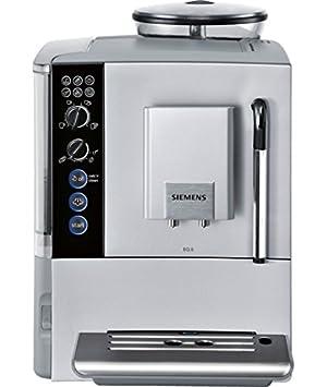 Siemens TE501201RW - Cafetera (Independiente, Máquina espresso, 1,7 L, Molinillo integrado, 1600 W, Plata): Amazon.es: Hogar