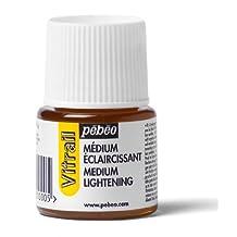 Pebeo Vitrail Stained Glass Effect Glass Paint, Lightening Medium 45-Milliliter Bottle
