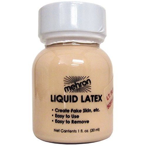 Mehron Liquid Latex Soft Beige 1oz