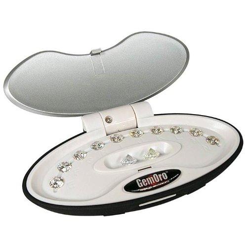 Gemoro GIA Grading Scale 10 Stone Diamond Color Grading Kit (1.00ct) (Best Diamond Color Scale)