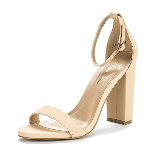DREAM-PAIRS-Womens-Hi-Chunk-High-Heel-Pump-Sandals