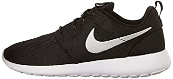 Nike Womens Roshe One Running Shoe Blackmetallic Platinumwhite (9) 4