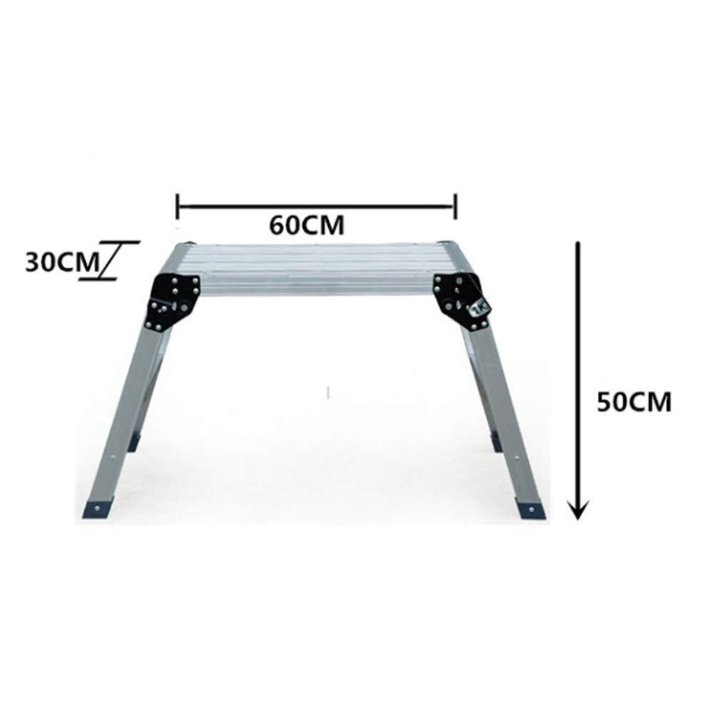 Amazon.com: XHCfold Escalera de plataforma de trabajo ...