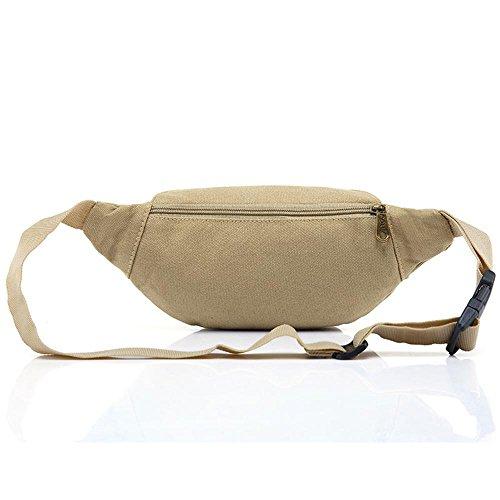 BUSL Senderismo bolsas de cintura deportes de los hombres bolsillos del teléfono bolsillo de la lona de camping al aire libre Mini Sra. . B A