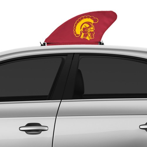 Tailgate Flag Trojans Usc (NCAA USC Trojans Car Fin - Cardinal)