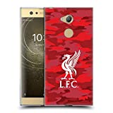 Official Liverpool Football Club Home Colourways Liver Bird Camou Soft Gel Case for Sony Xperia XA2 Ultra