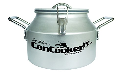 CanCooker Junior Cooker, Non Stick Convection Steam Cooker for Both Indoor Cooking and Camping from CanCooker