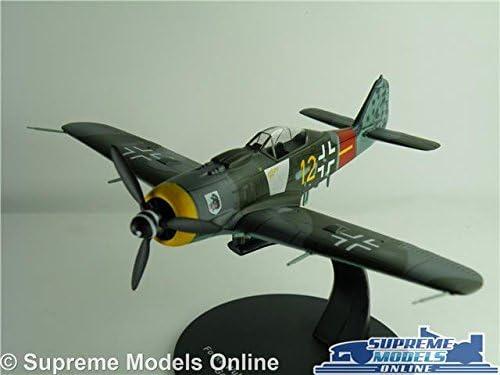 1:72 Atlas WW2 MUSTANG N.A FOCKE WULF Flugzeug ATLAS MODEL AIRCRAFT 003