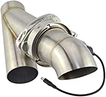 Universal Stainless Steel 3 Inch Electric Exhaust Cutout Kit