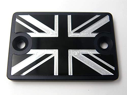 2pcs Water Cup Bottle Holder Anti-Slip Pad Mats for Mini Cooper F54 F55 F56 F57 F60 R55 R56 R57 R58 R59 R60 R61 Hardtop Clubman Hatchback Covertible Roadster Countryman 65mm, Union Jack Red