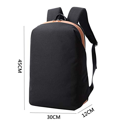 Fits Slim Inch Water 6 Laptop Computer College Laptop amp; Resistant Backpack 15 Schoolbag Black Resistant Business Notebook Travel Backpack Zhuhaixmy Bag qawOIv4F