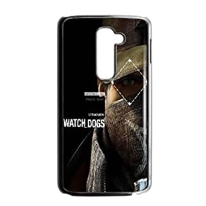 LG G2 Cell Phone Case Black af08 watchdogs pearce aiden connection is power ISU251997