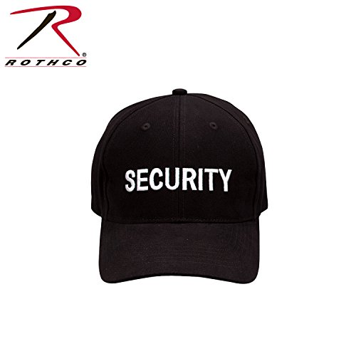 (Rothco Low Profile Cap - Black/Security - White)
