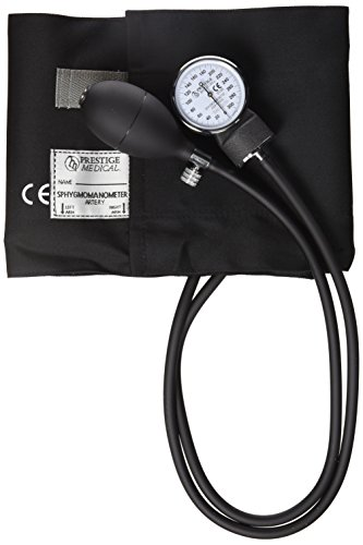 Prestige Medical Adult Cotton Cuff Aneroid Sphygmomanometer, Large, 11.6 Ounce