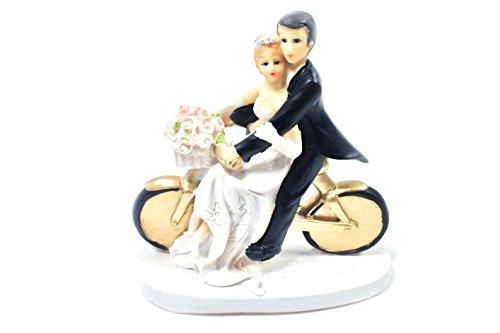 Brautpaar auf dem Fahrrad
