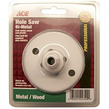 """Ace 3-1//4/"""" Diameter Bi-Metal Variable Pitch Hole Saw ~ New"""
