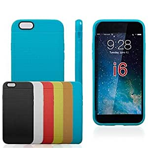 TOPQQ Honeycomb Shape TPU Soft Case for iPhone6 (Assorted Colors) , Yellow