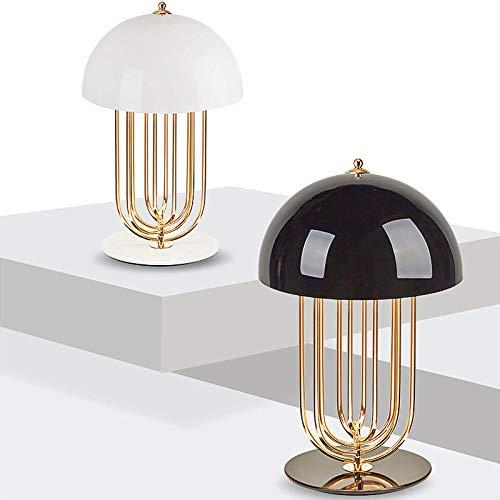 Moderno nordico transformable de setas Lamparas de mesa sala de estar restaurante restaurante junto a la cama Lampara, Black_Small