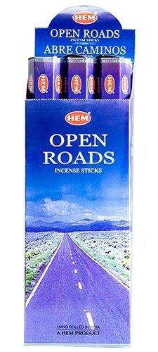 Open Roads - Box of Six 20 Stick Tubes - HEM (Road Stick)