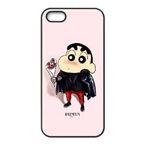 iPhone 5 5s Cell Phone Case Black Crayon Shin chan Cute Cartoon VIU936014