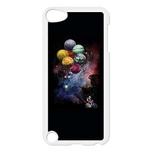 iPod Touch 5 Case White Spaceman Sidejob GCL Plastic 3D Phone Case