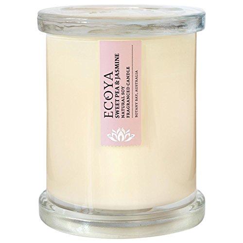 Ecoya Metro Jar Sweet Pea Candle - Pack of 6 ()