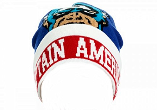 Captain America Fleece Hat - Marvel Comics CAPTAIN AMERICA Name &