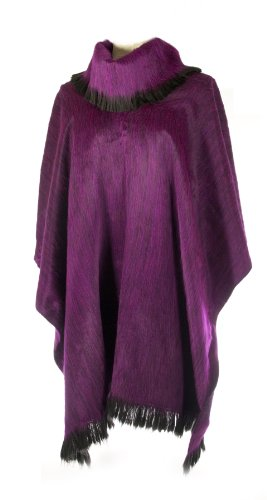 Shupaca Pullover Shawl, Grape by Shupaca