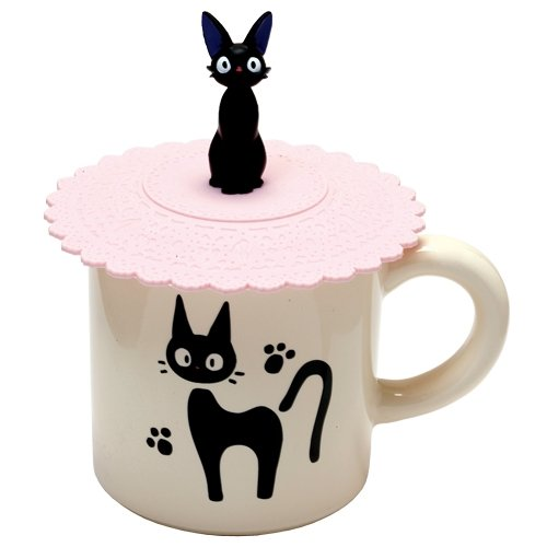 Ghibli Kiki's Delivery Service kitchen collection Gigi silicon cup cover From Japan New (Famous People With Wigs)