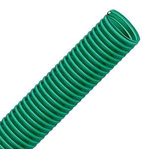 Flextube gr 38mm de diámetro (11/2pulgadas) Longitud 50M PVC Manguera Manguera de aspiración y de impresión para aplicaciones ligero