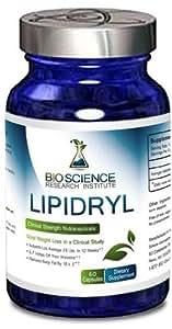Lipidryl: Clinical Strength Weight Loss, Patented IGOB131 compound, 3 month supply