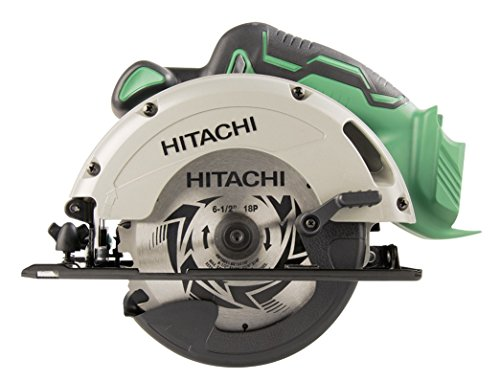 Hitachi C18DGLP4 18V Cordless Lithium-Ion Circular Saw with Lifetime Tool Warranty (Tool Only, No Battery)