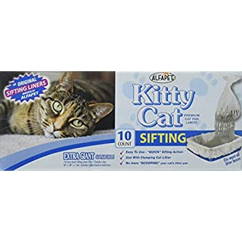 Amazon Com Kitty Cat Alpha Pet Premium Cat Pan Liners